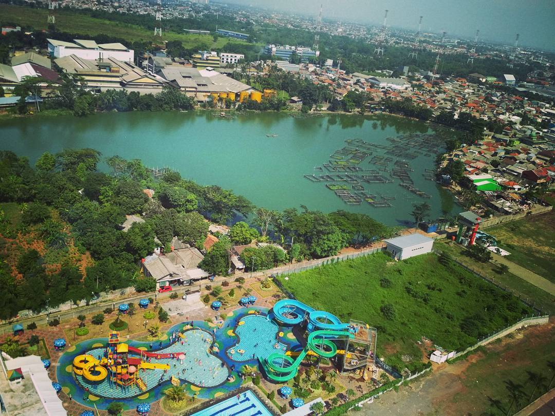 Green Lake View Waterpark Spot